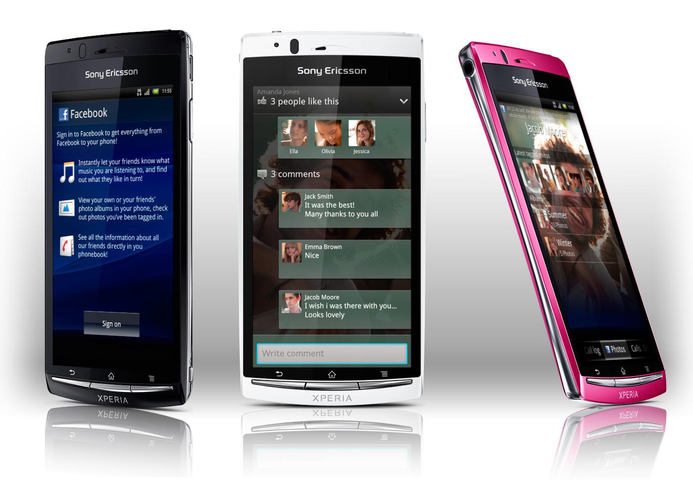 Sony Ericsson Xperia arc S – odświeżona wersja z procesorem 1,4