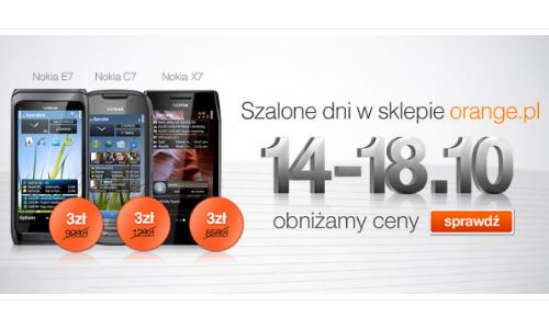 Telefony Nokia za3zł wOrange (fot.: materiały Orange)