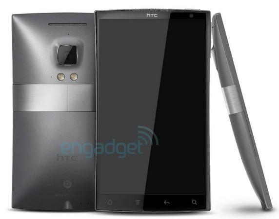 HTC Zeta - fot. engadget.com