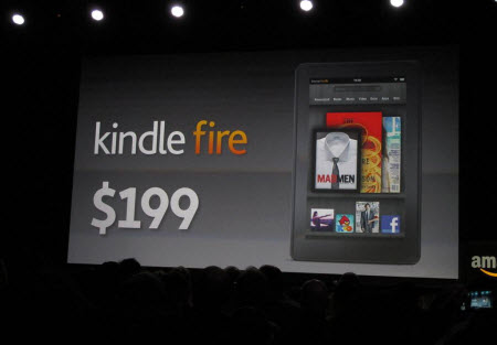 Amazon Kindle Fire - tani tablet dla mas (fot. Tech2Date.com)
