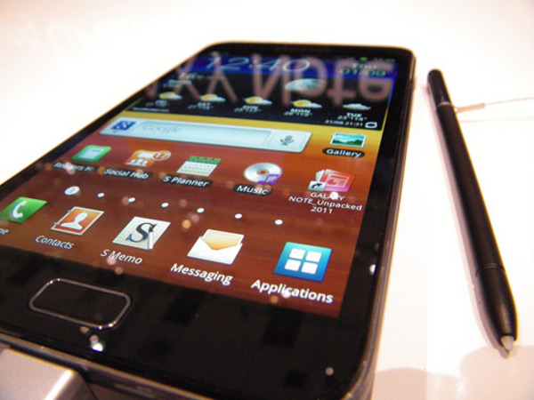 Samsung Galaxy Note | fot. Stuff
