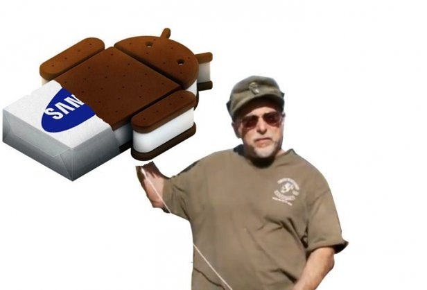 Value Pack? Ice Cream Sandwich? Nope, Chuck testa.