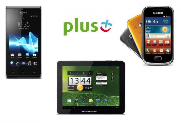 Smartfon itablet wjednym abonamencie (fot. plus)