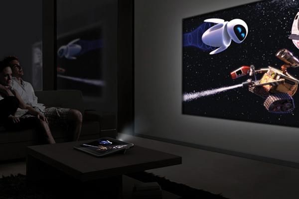 Ciekawy koncept tabletu z projektorem w wykonaniu Samsunga