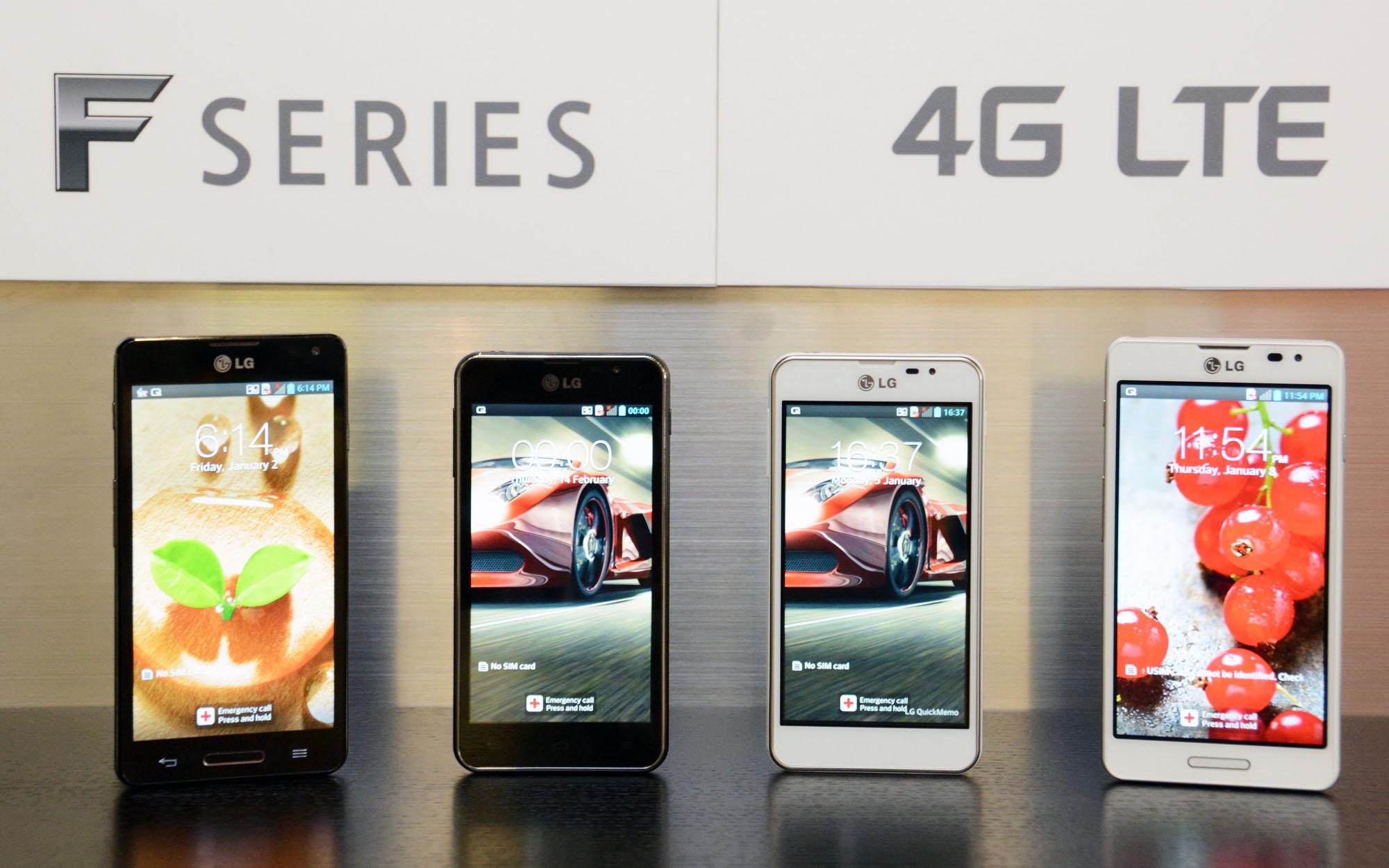 Seria LG Optimus F