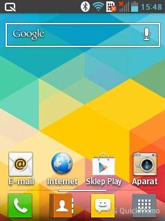 Interfejs LG Swift L3 II