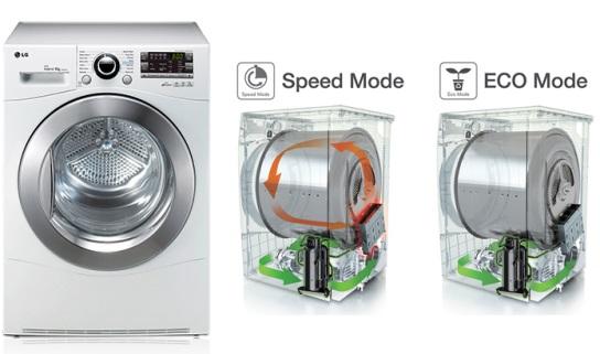 LG Eco-Hybrid - tryb szybki iekologiczny