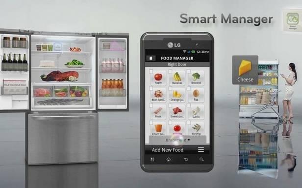 Smart Manager pozwoli nakorzystanie zzaawansowanych funkcji lodówki również zapomocą smartfona