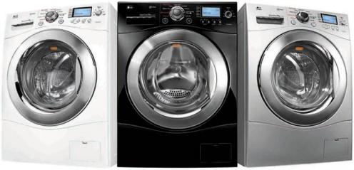 Parowe pralki LG znapędem Direct Drive