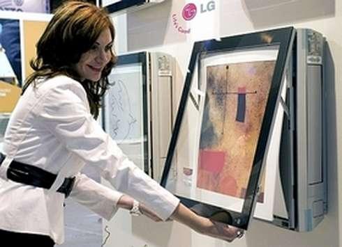 Zmiana wyglądu klimatyzatora LG Art Cool Galeria