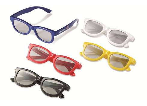 Okulary polaryzacyjne Cinema 3D