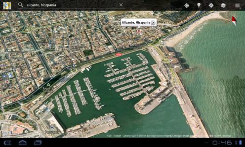 LG Swift Tab - mapy | wł.