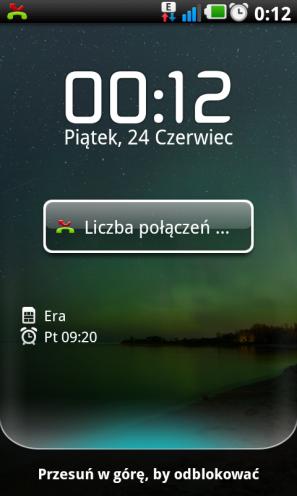 LG Swift UI - ekran blokady