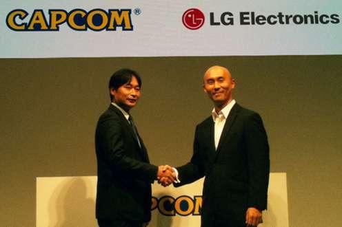 Porozumienie zfirmą Capcom daje LG czasową wyłączność nagrę Street Fighter IV (Fot. LGBlog.co.uk)