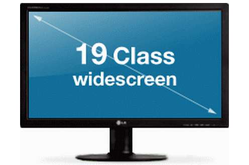 Przekątna - miara wielkości monitora (Fot. LG.com)