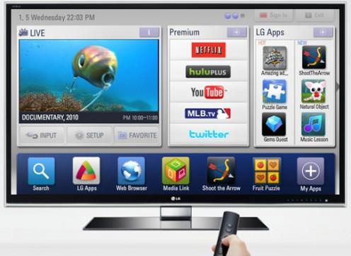 LG Smart TV fot. LG
