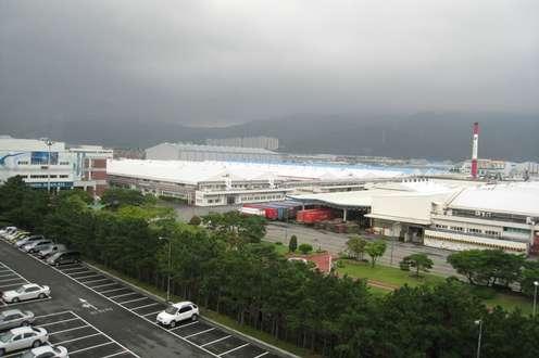 Fabryka LG, wktórej wprowadzono proekologiczne rozwiązania (Fot. Panoramio.com)