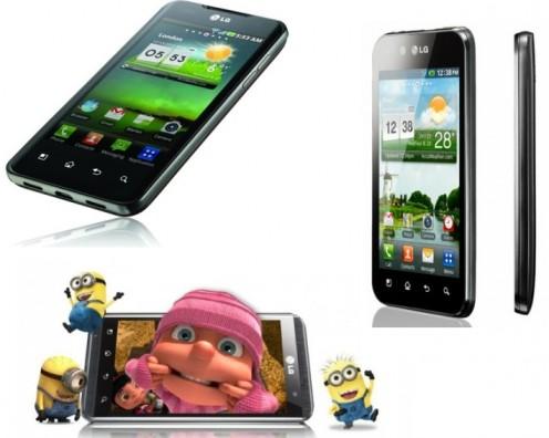Smartfony LG w2011 r.