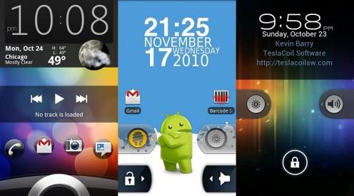 Widget Locker | fot. Android Market