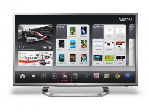 Google TV Fot. LG