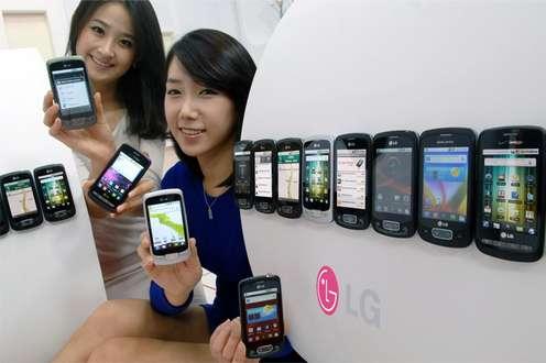 Czym różnią się odsiebie wyświetlacze telefonów? (Fot. LG)