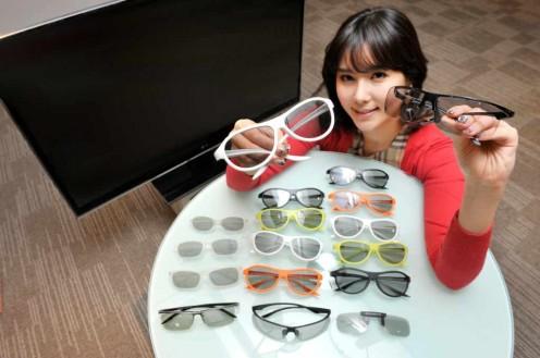 Okulary 3D Fot. LG