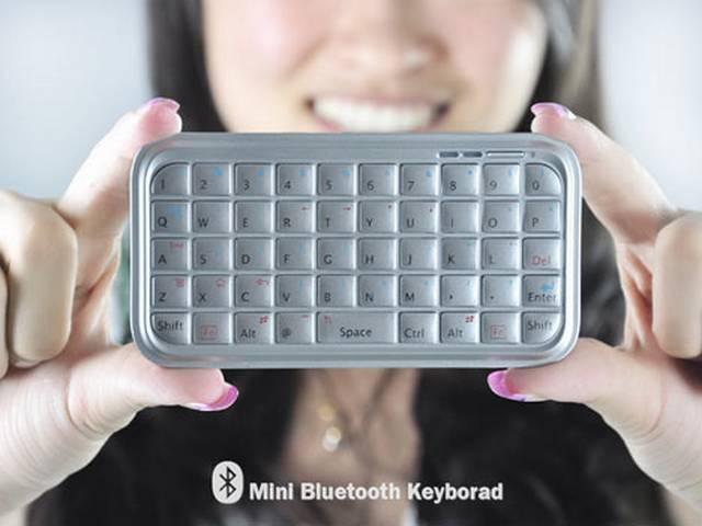 Jedna zwielu propozycji zewnętrznych klawiatur do smartfonów