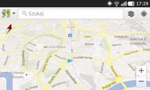 Prada 3.0 by LG - Mapy Google'a