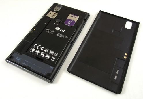 Prada 3.0 by LG - bateria