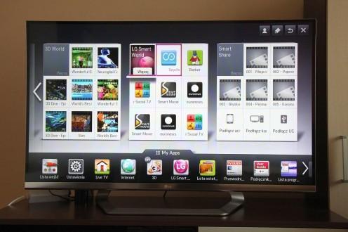 Druga część pozycji Smart TV