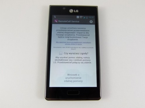 LG Swift L7 - RemoteCall Service