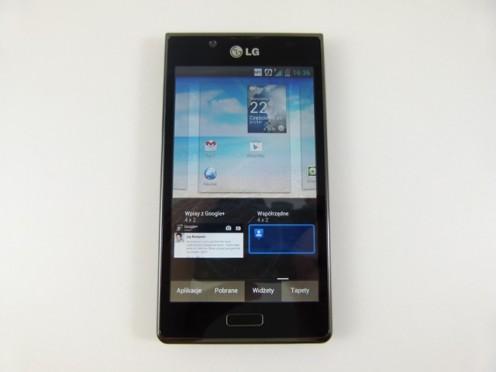 LG Swift L7 - wybór widżetów