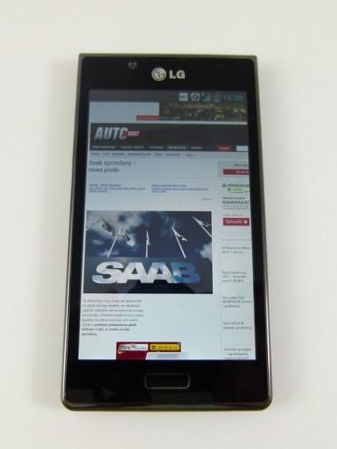 LG Swift L7 - przeglądarka internetowa