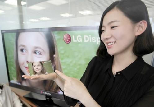Rozdzielczość Full HD na5-cio calowym ekranie LG