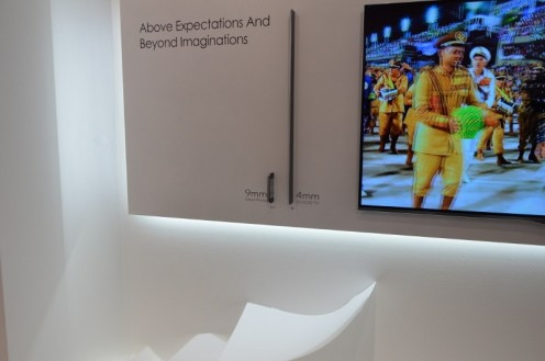 Grubość telewizorów LG! (fot. wł)