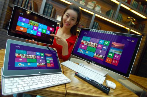 Hybryda LG z Windows 8