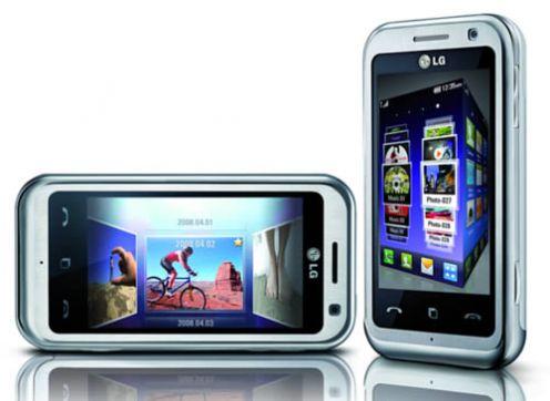 LG Arena KM900 - jeden zpierwszych telefonów zobsługą technologii Dolby Mobile