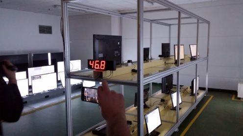 Fabryka telewizorów LG wMławie - komora klimatyczna