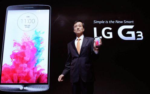 Dr Jong-Seok Park  prezentuje LG G3