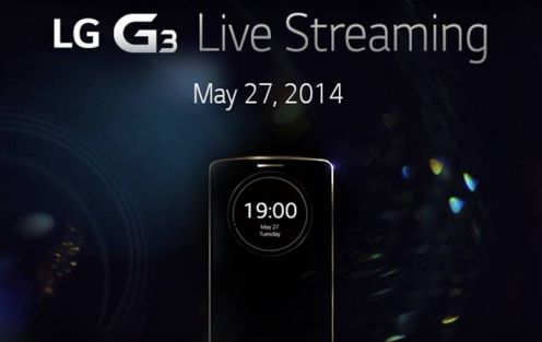 LG G3 - livestream