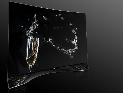 Telewizor LG OLED zkryształami Swarovskiego