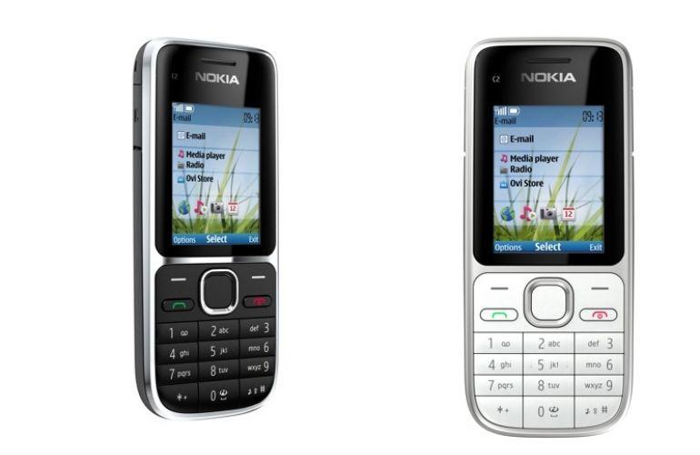 Nokia C2-01 - Nokia X2-01 i C2-01 zaprezentowane