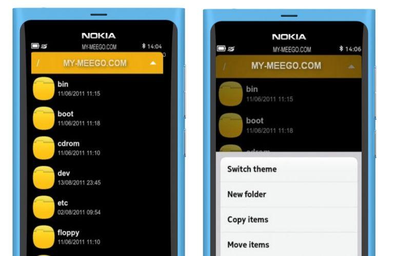 File-Manager - Zarządzanie plikami w Nokia N9 [wideo]
