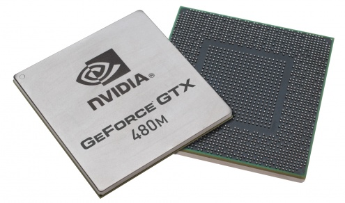 nVidia GeForce GTX480M