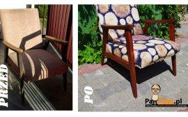 Renowacja Fotela - Renowacja starego fotela - część 1