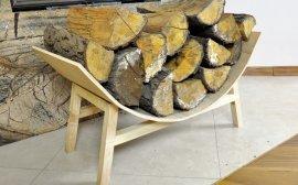 1-10221 - Półokrągły stojak na drewno kominkowe – część 2