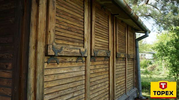Altana przed czyszczeniem - Ogólne wskazówki do pracy z drewnem - część 1