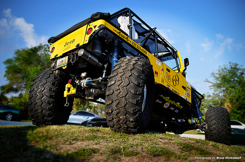 "Jeep Scrambler ""Jeepeto"" rock crawler(Fot. Flickr_ Bryce Womeldurf_Lic. CC.)"
