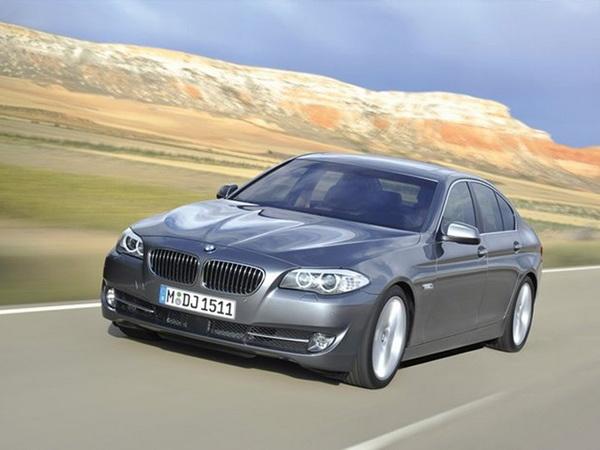 Luksusowe limuzyny: BMW Serii 5
