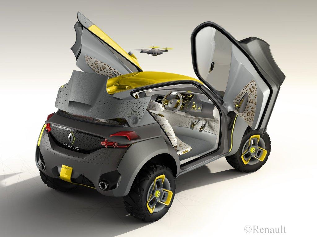 Koncepcyjne Renault Kwid
